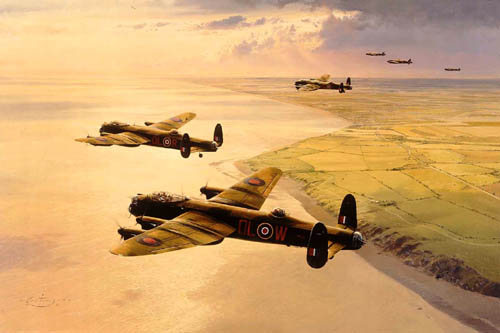 Limited edition fine art print signed by RAF veterans